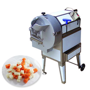 ginger Washing Peeling grinding machine lettuce cutting equipment Razorfish